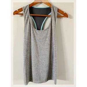Orangetheory Fitness OTF Gray Blue Tank Top